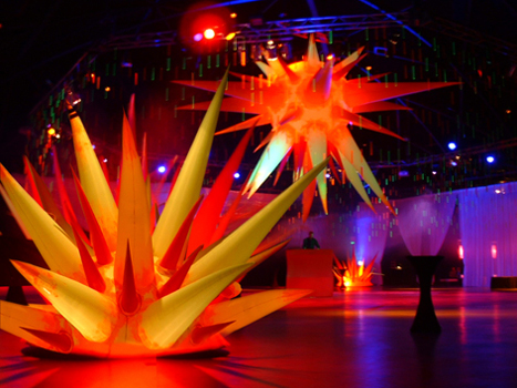 Event design, design Cirque Du Soliel